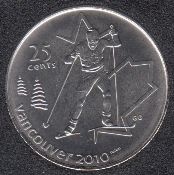 2009 - #2 B.unc - Cross Country - Canada 25 Cents