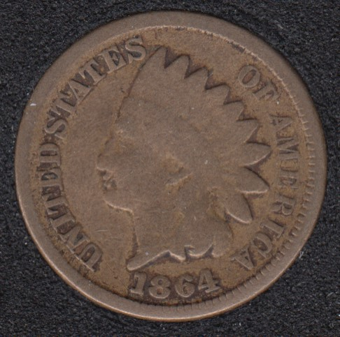 1864 - Indian Head Small Cent