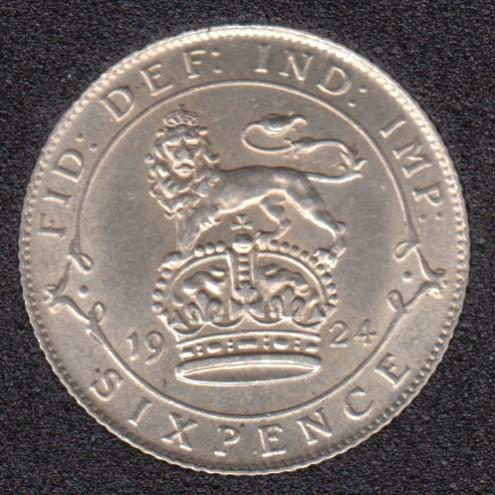 1924 - 6 Pence - EF - Grande Bretagne