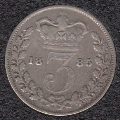 1885 - 3 Pence - Great Britain