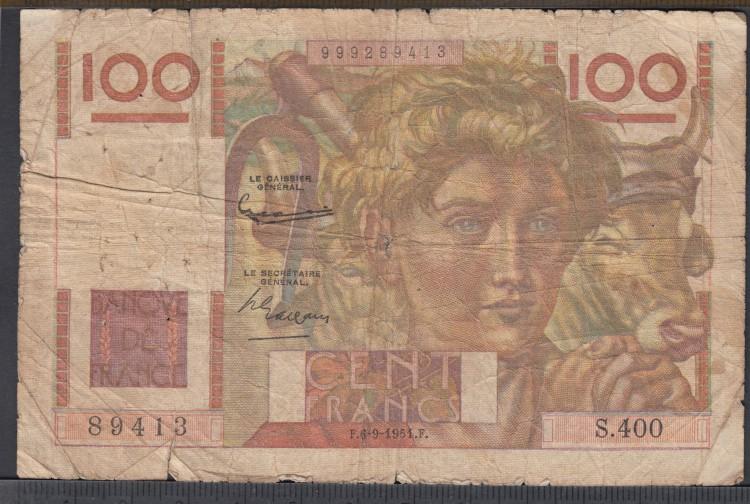 1951 - 100 Francs - France