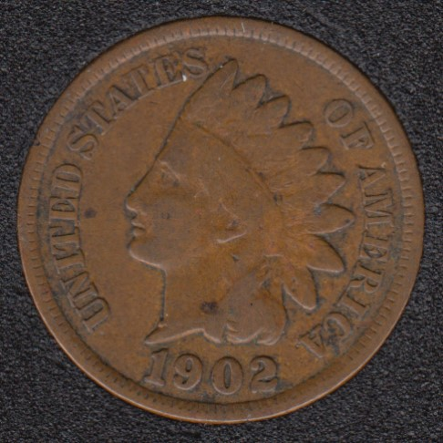 1902 - Indian Head Small Cent