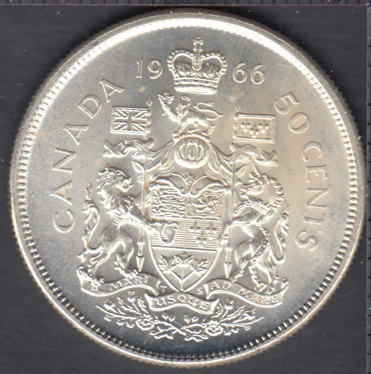 1966 - B.Unc - Canada 50 Cents
