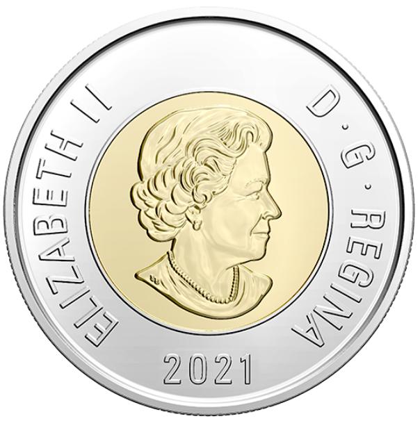 2021 - B.Unc - Canada 2 Dollars
