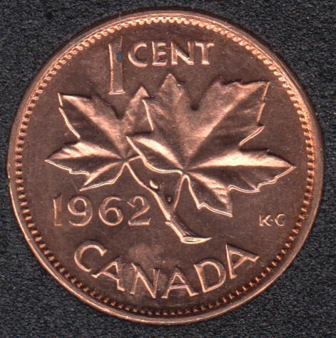 1962 - B.Unc - Canada Cent