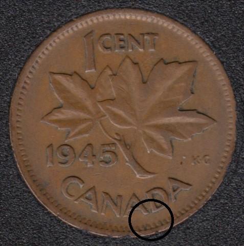 1945 - Break D to Rim - Canada Cent