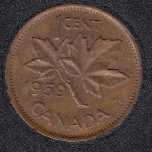 1959 - Canada Cent