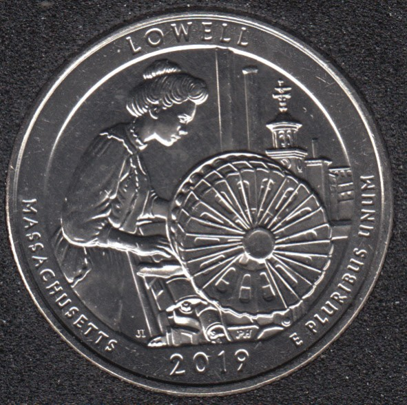 2019 S - Lowell - 25 Cents