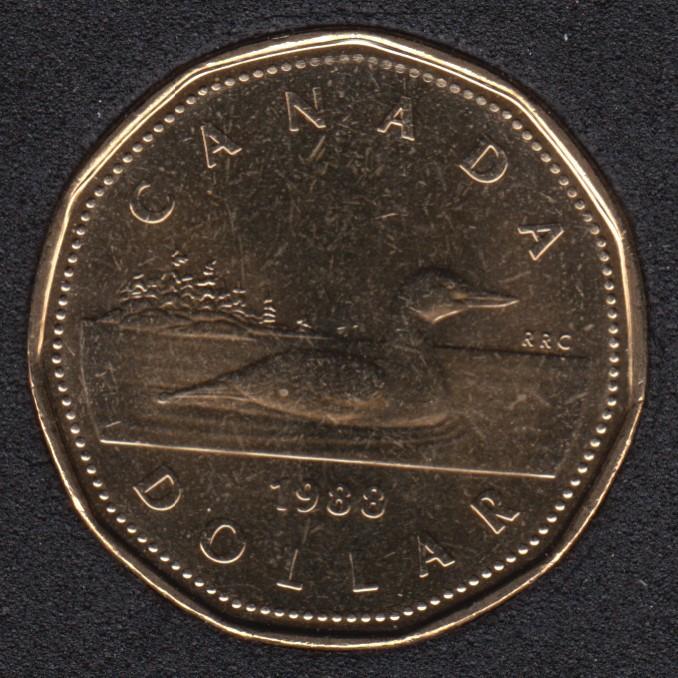 1988 - B.Unc - Canada Huard Dollar