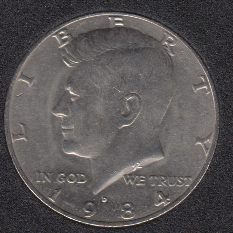 1984 D - Kennedy - 50 Cents