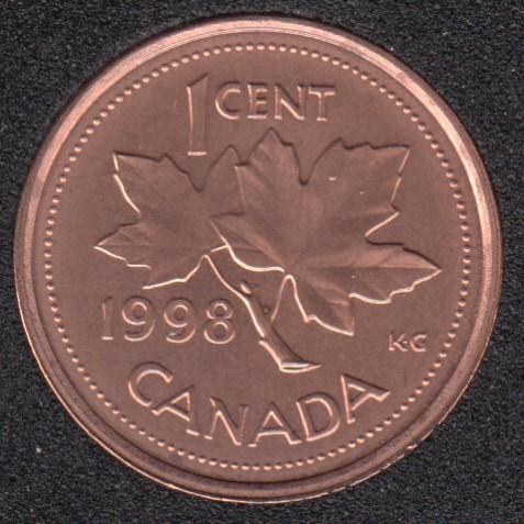 1998 - B.Unc - Canada Cent