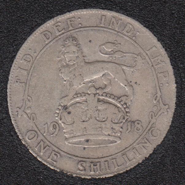 1918 - Shilling - Grande Bretagne