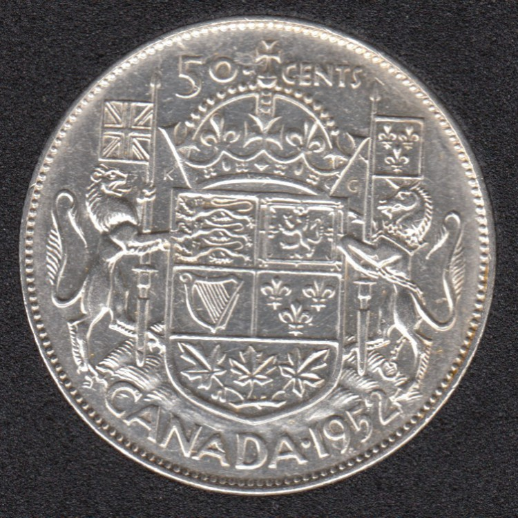 1952 - Canada 50 Cents