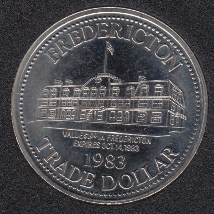 1983 - Fredericton N.B. $1
