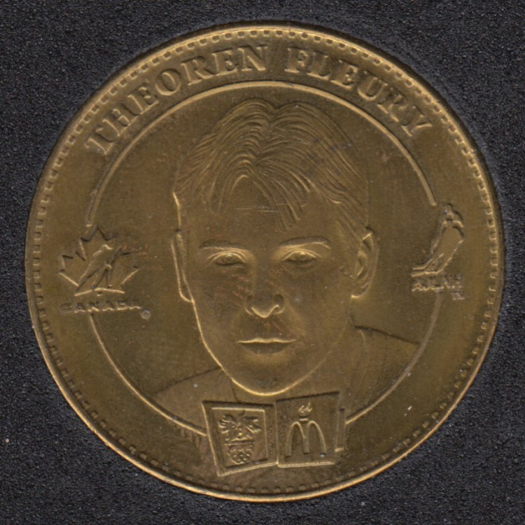 1998 - McDonald - Theoren Fleury - Paul Kariya - Equipe Canada Olympique