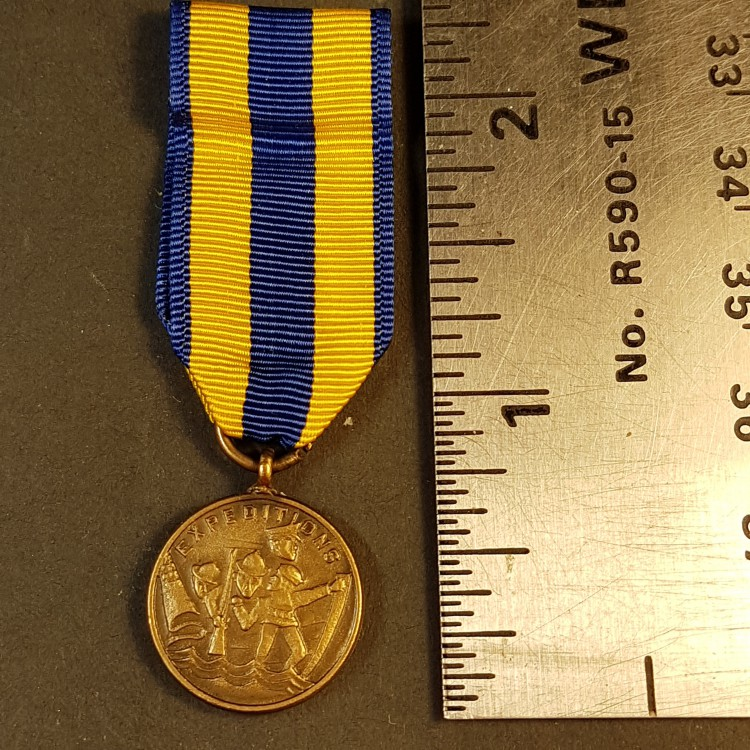 #165 U.S. Miniature Expeditions United States Navy for Service Medal