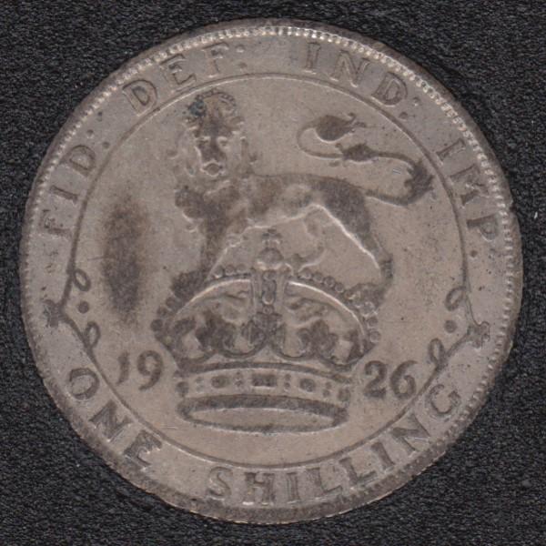 1926 - Shilling - Grande Bretagne