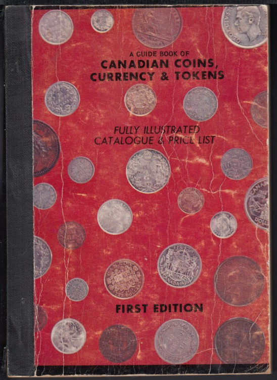1958 - Guide Book of Canadians Coins, Currency and Token - First Edition - Usagé