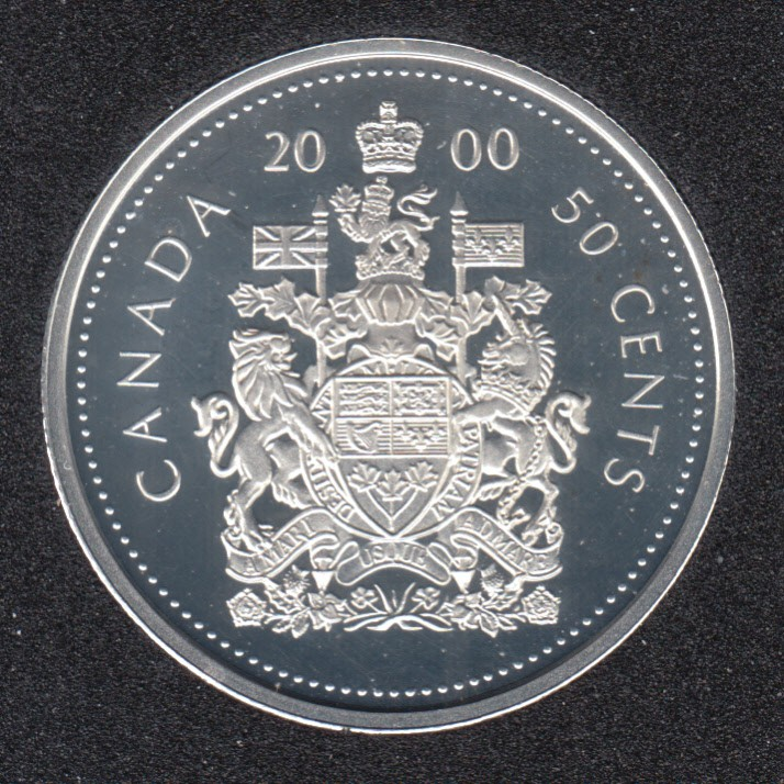 2000 - Proof - Argent - Canada 50 Cents