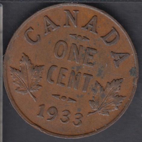 1933 - AU - Canada Cent