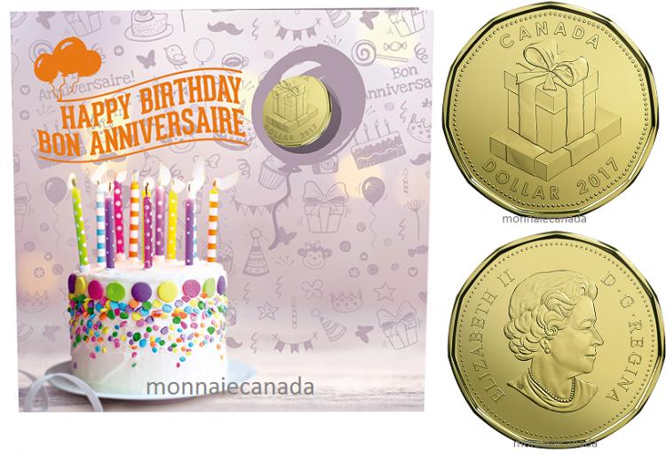 2017 ensemble cadeau bon anniversaire monnaie canada - Cadeau anniversaire camaieu 2017 ...