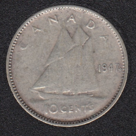 1947 - ML - Canada 10 Cents