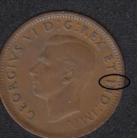 1943 - Break I to Rim - Canada Cent