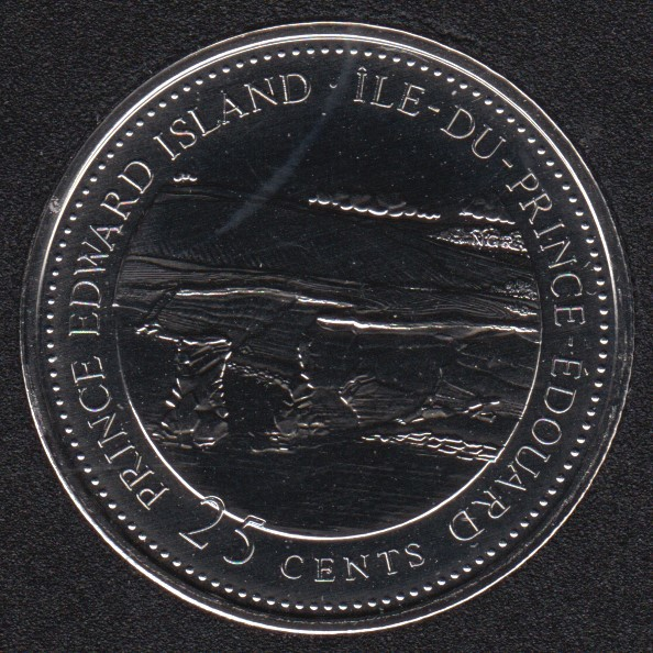 1992 - #7 NBU - Prince Edward Island - Canada 25 Cents