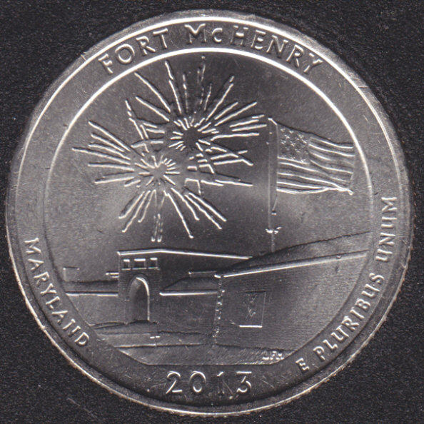 2013 P - Fort McHenry - 25 Cents