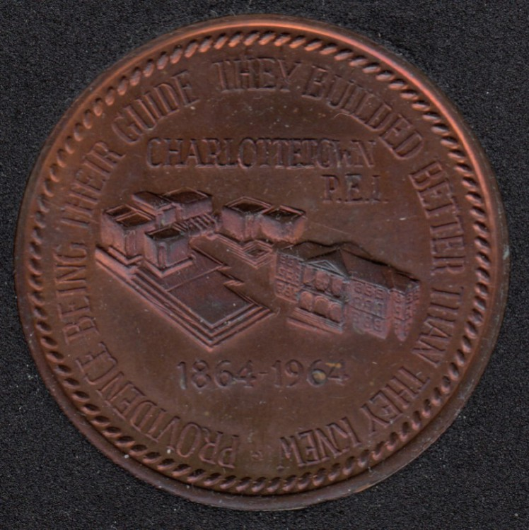 P.E.I. - 1964 - 1864  - Centennial of First Confederation Conferenceof Canada