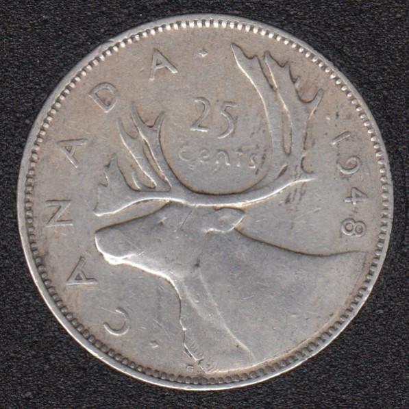 1948 - Canada 25 Cents