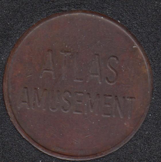 Arcade - Atlas Amusement - No Cash Value - Gaming Token