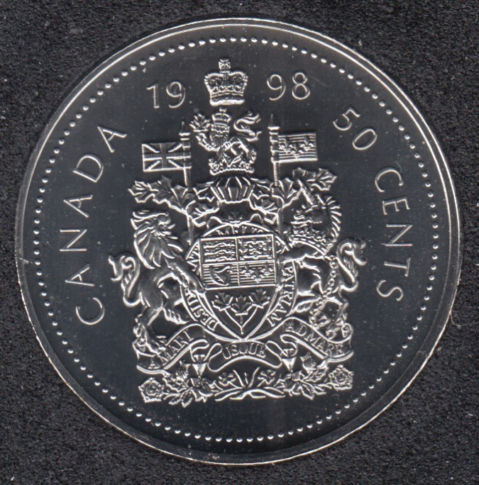 1998 W - NBU - Canada 50 Cents