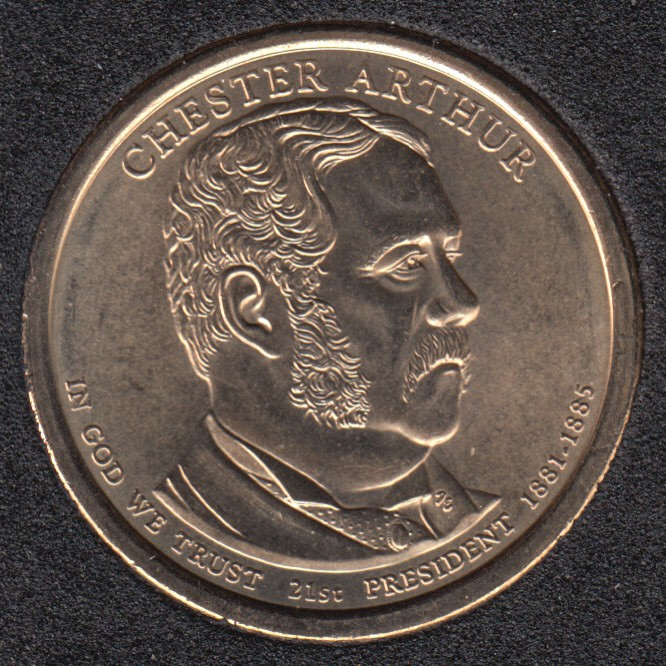 2012 D - C. Arthur - 1$
