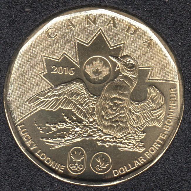 2016 - B.Unc - Olympique - Canada Dollar