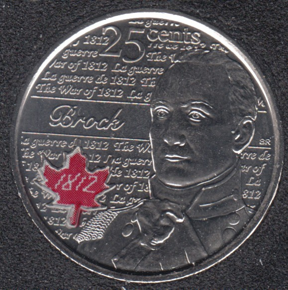 2012 - B.Unc - Brock Col. Canada 25 Cents