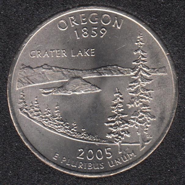 2005 P - Oregon - 25 Cents