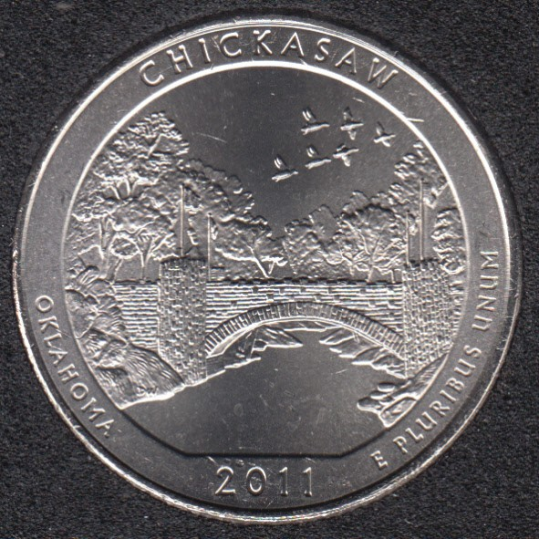 2011 D - Chickasaw - 25 Cents