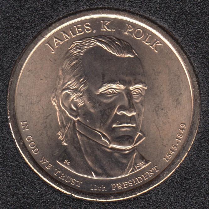 2009 P - J.K. Polk - 1$