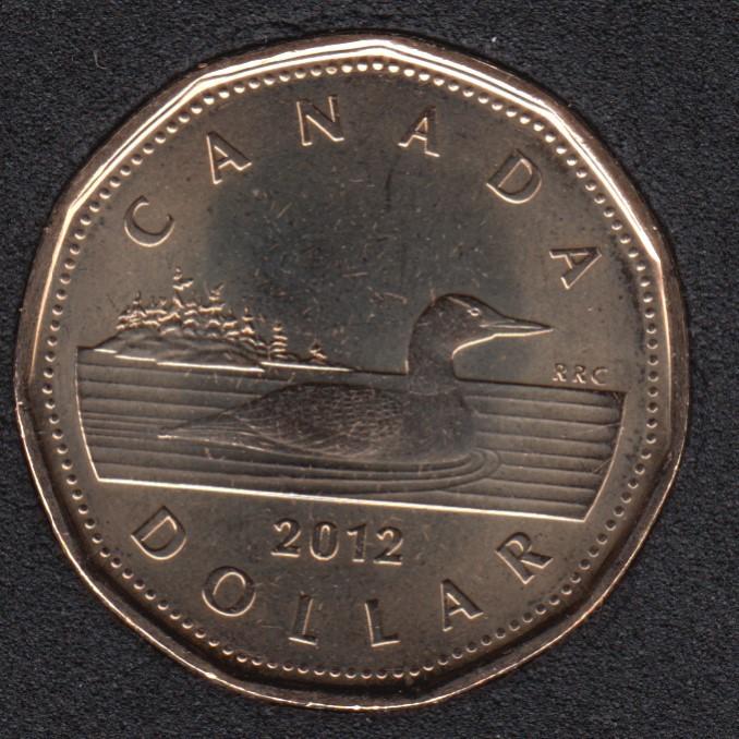 2012 - B.Unc - Ancienne Generation - Canada Huard Dollar