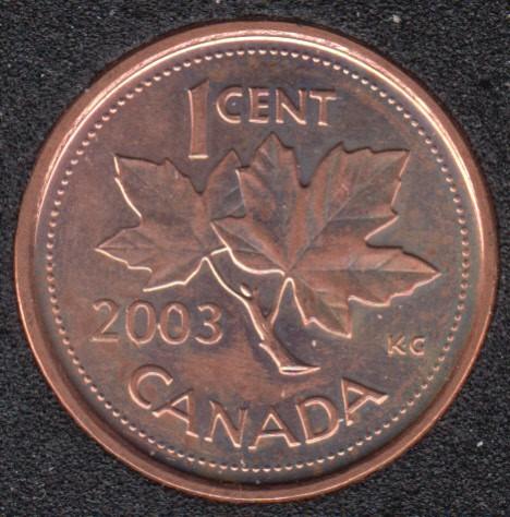 2003 P - B.Unc - OE - Canada Cent