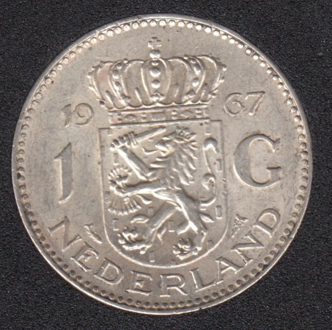 1967 - 1 Gulden - Pays-Bas