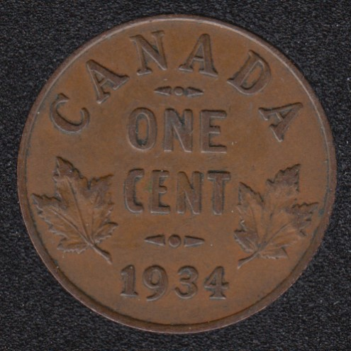 1934 - EF - Canada Cent
