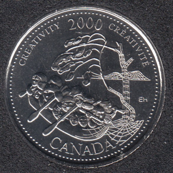 2000 - #910 NBU - Créativité - Canada 25 Cents