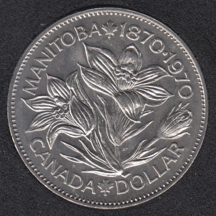 1970 - B.Unc - Nickel - Canada Dollar