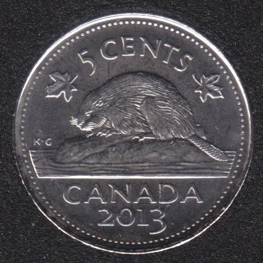 2013 - B.Unc - Canada 5 Cents