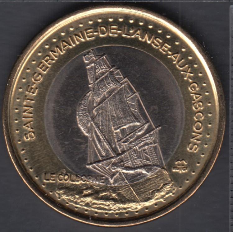 M.R.C. du Rocher Percé - Ste-Germaine-de-L'Anse-aux-Gascons - 2001 - $3 Trade Dollar