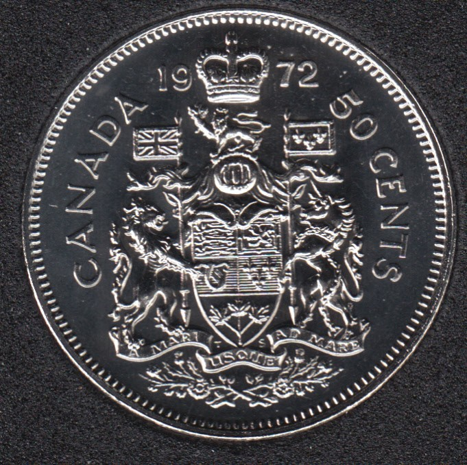 1972 - Proof Like - Canada 50 Cents