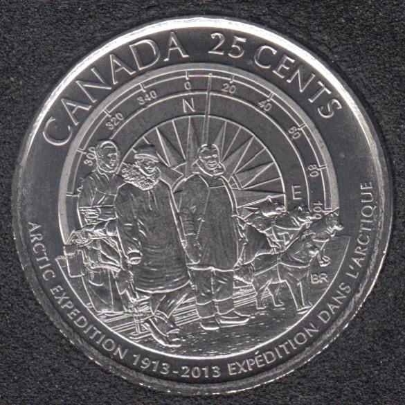 2013 - #2 B.Unc - Arctic - Canada 25 Cents