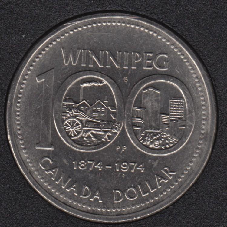 1974 - B.Unc - Nickel - Canada Dollar
